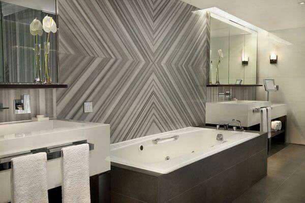 Banyo Duvar Mermer Kaplama